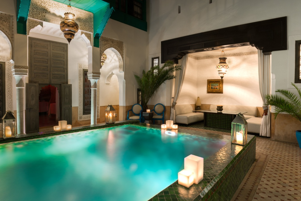 Riad farnatchi hotel Marrakech city guide